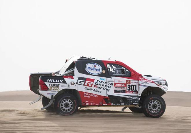 Dakar 2019 - Etapa 9 - Nasser Al-Attiyah - Toyota Hilux