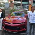 El Camaro presente en el Paseo Chevrolet en Carilo