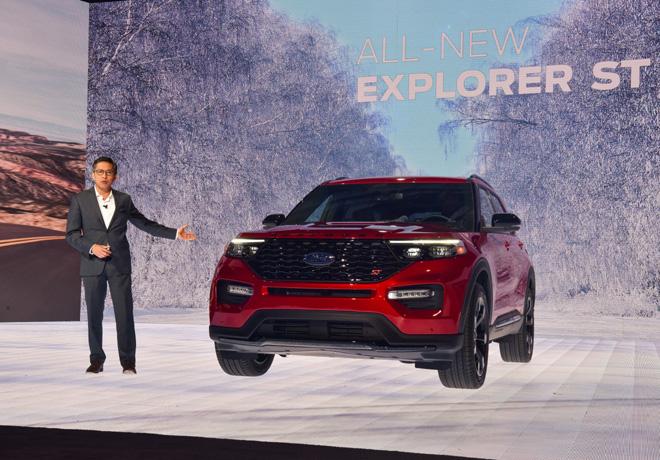 Ford presento el Ford Explorer ST en el Salon de Detroit