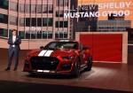 Ford presento el Nuevo Mustang Shelby GT500 en el Salon de Detroit 2