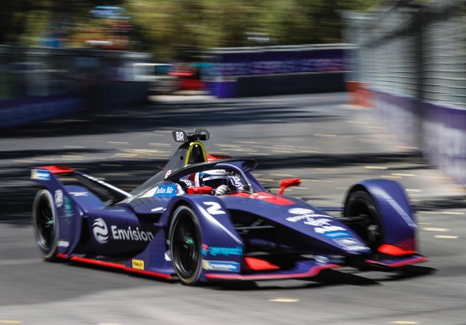 Formula E - Santiago de Chile - Chile 2019 - Carrera - Sam Bird - Envision Virgin Racing