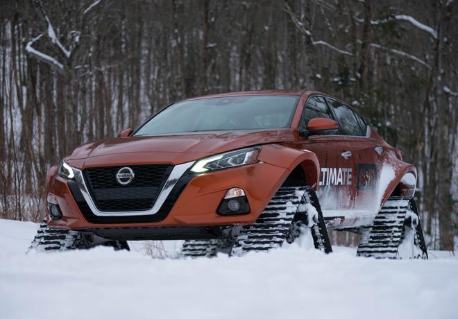 Nissan Altima-te AWD 1