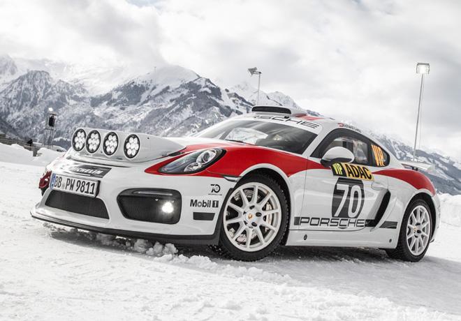 Porsche Cayman GT4 Rallye 2