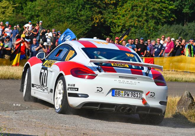 Porsche Cayman GT4 Rallye 3