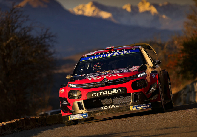 WRC - Monaco 2019 - Dia 3 - Sebastien Ogier - Citroen C3 WRC
