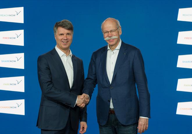 BMW Group y Daimler AG invierten mas de 1000 millones de euros en un proveedor conjunto de servicios de movilidad