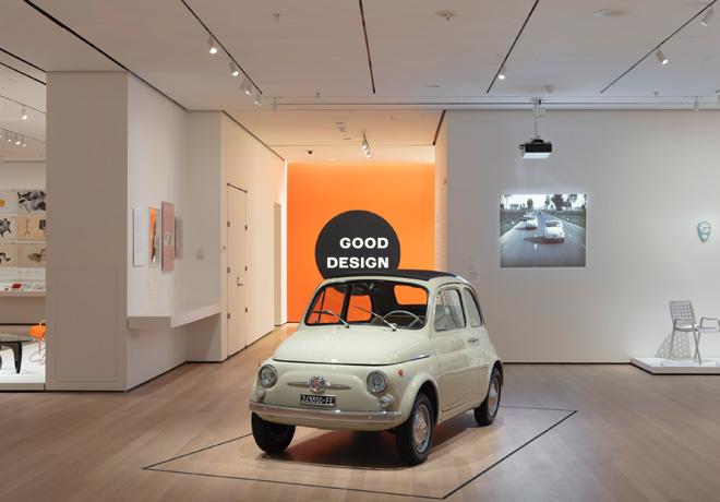 El Fiat 500 ocupa un puesto de honor en el Museo de Arte Moderno de Nueva York 1