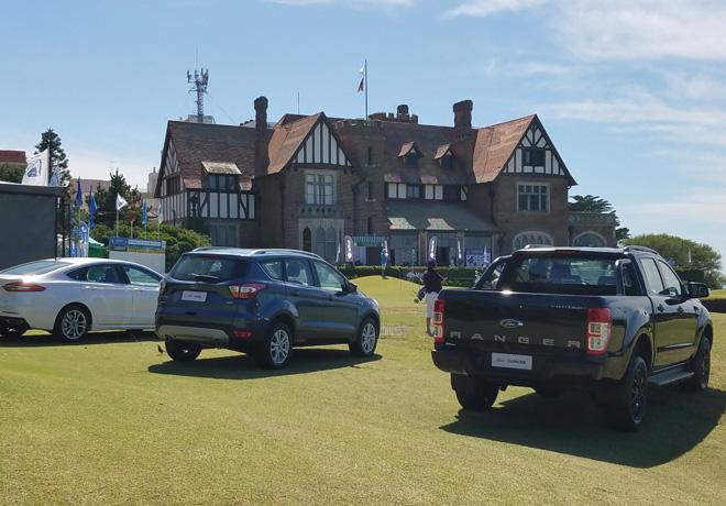 Ford Argentina es la automotriz oficial del 101 Abierto del Sur en el Mar del Plata Golf Club