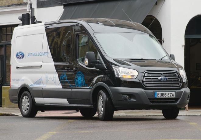 Ford y Gnewt se unen para hacer mas sustentable el delivery de bienes y servicios 1