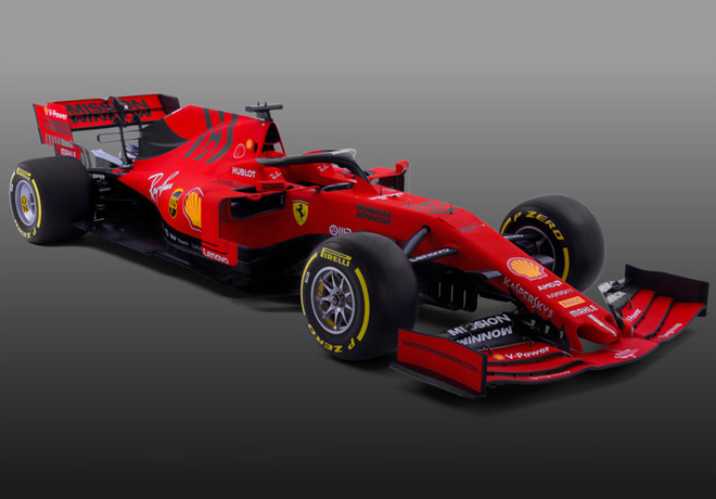 Formula 1 - Ferrari SF90 2