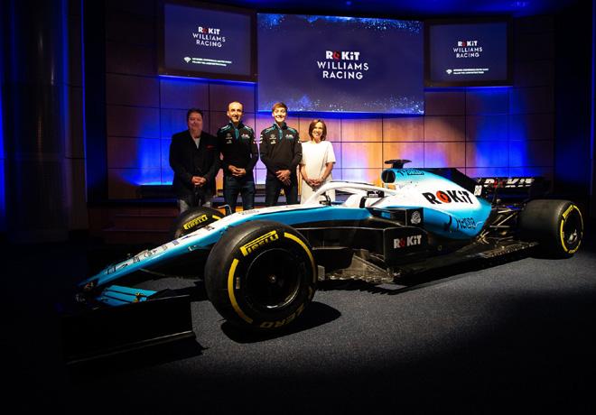 Formula 1 - Williams presento nuevos colores sobre un FW41 de 2018 1