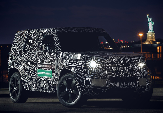Land Rover revelar el nuevo Defender en 2019