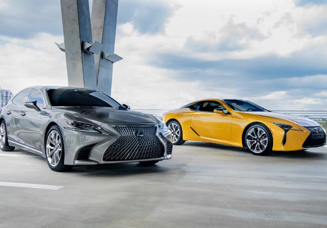 Lexus alcanza las 10 millones de unidades vendidas y continúa creciendo a nivel mundial 1