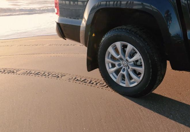 """""""The Sand Ad"""", by Volkswagen Amarok."""