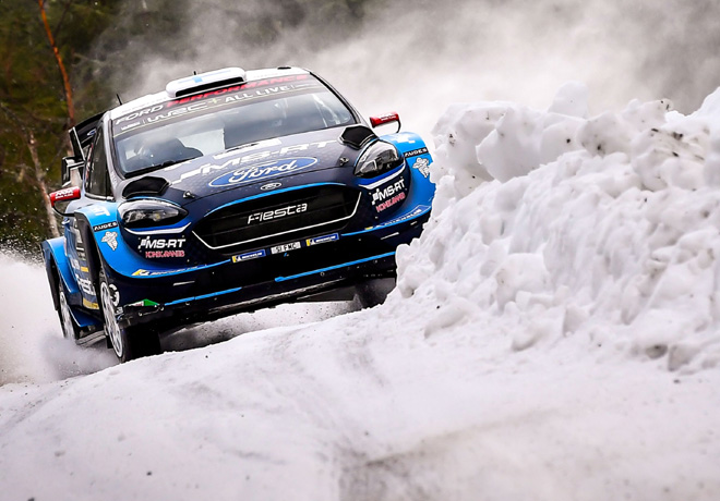 WRC - Suecia 2019 - Dia 1 - Teemu Suninen - Ford Fiesta WRC