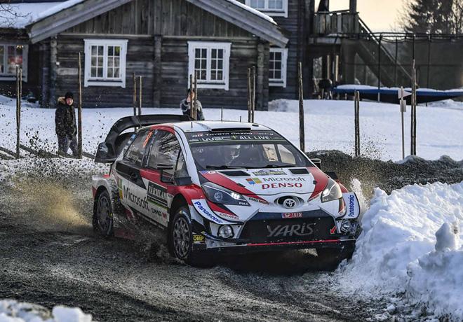 WRC en Suecia – Día 2: Tänak pasa al frente.