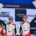 WRC - Suecia 2019 - Final - Ott Tanak en el Podio