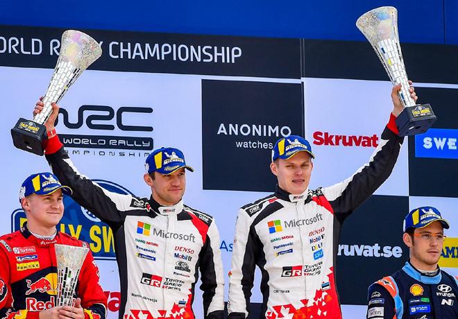 WRC en Suecia – Final: Aplastante victoria de Ott Tänak.