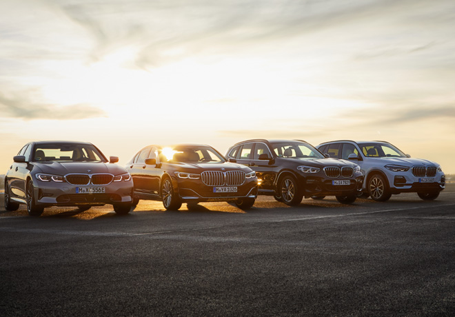 BMW avanza de forma consistente con la electrificacion