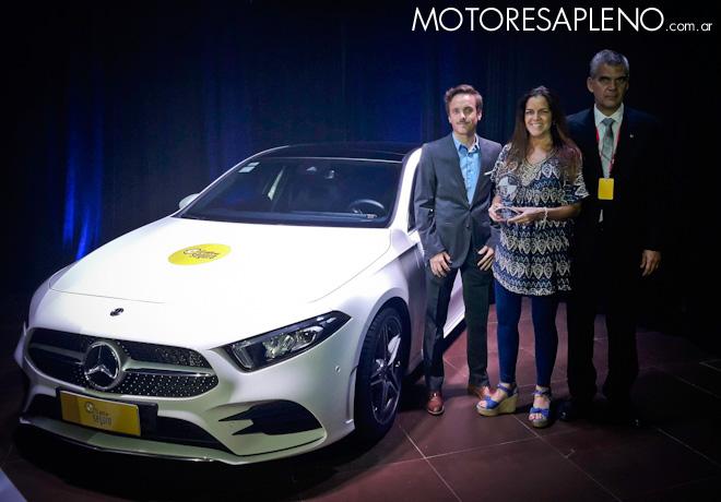 CESVI - El Auto mas Seguro 2018 - Excelencia en Seguridad - Mercedes Benz Clase A