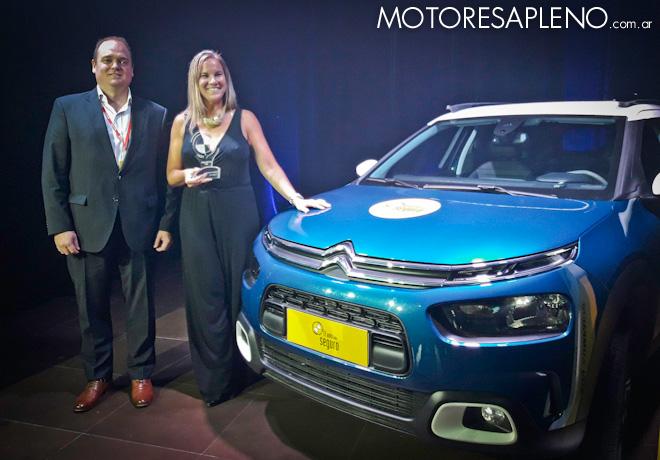 CESVI - El Auto mas Seguro 2018 - SUV Compacto - Citroen C4 Cactus
