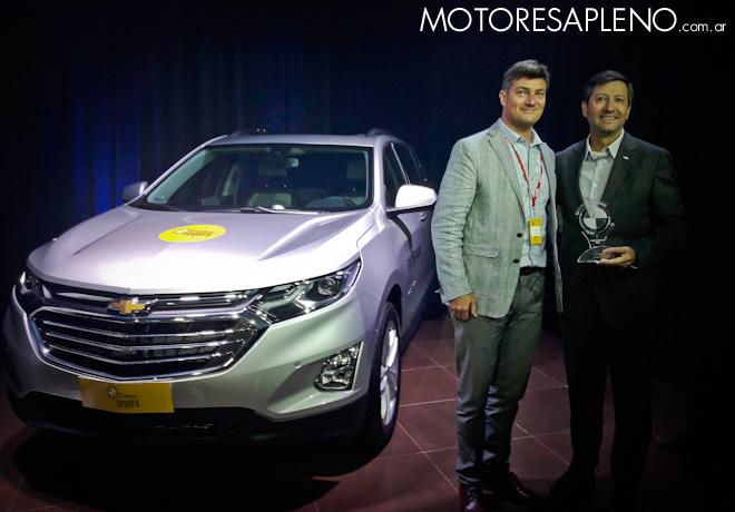 CESVI - El Auto mas Seguro 2018 - SUV Mediano - Chevrolet Equinox