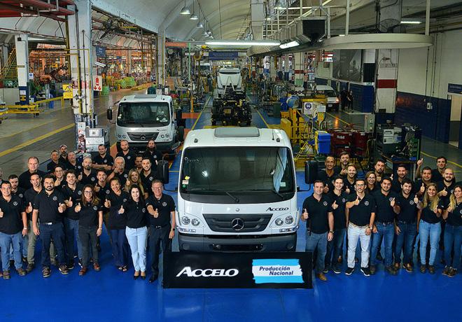 El camion Accelo de Mercedes-Benz ahora se hace en Argentina