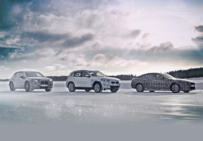 Electromovilidad en condiciones extremas - BMW iX3 - i4 - iNEXT en el Circulo Polar Artico