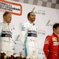 F1 - Bahrein 2019 - Carrera - Valtteri Bottas - Lewis Hamilton - Charles Leclerc en el Podio
