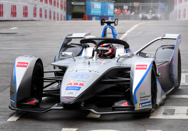 Formula E - Hong Kong - China 2019 - Carrera - Edoardo Mortara - Venturi
