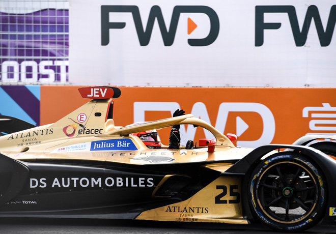 Formula E - Sanya - China 2019 - Carrera - Jean-Eric Vergne - DS Techeetah
