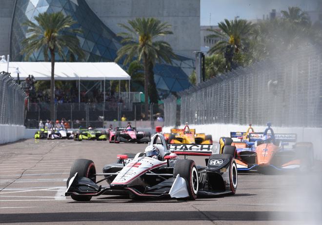 IndyCar - St Petersburg 2019 - Carrera - Josef Newgarden