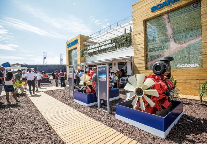 La energia Scania potencia Expoagro 2019