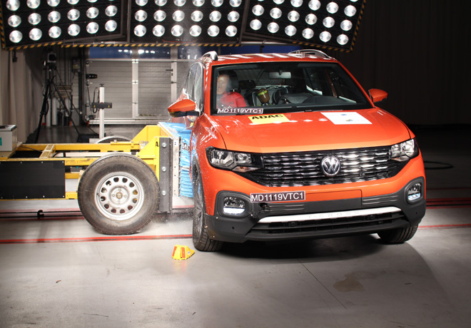 Latin NCAP - VW T-Cross - con 6 Airbags