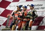 MotoGP - Qatar 2019 - Marc Marquez - Andrea Dovizioso - Cal Crutchlow en el Podio