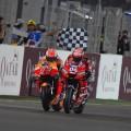 MotoGP - Qatar 2019 - Marc Marquez - Honda - y Andrea Dovizioso - Ducati