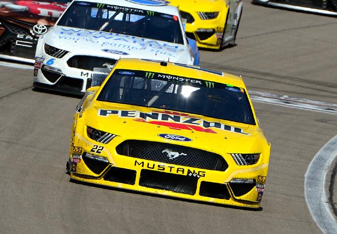 NASCAR - Las Vegas 2019 - Joey Logano - Ford Mustang