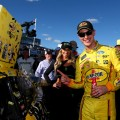 NASCAR - Las Vegas 2019 - Joey Logano en el Victory Lane