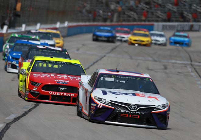 NASCAR - Texas 2019 - Denny Hamlin - Toyota Camry