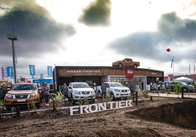 Nissan reafirma su compromiso con el campo y dice presente en Expoagro