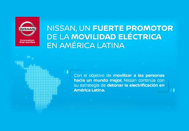 Nissan - un fuerte promotor de la movilidad electrica en America Latina