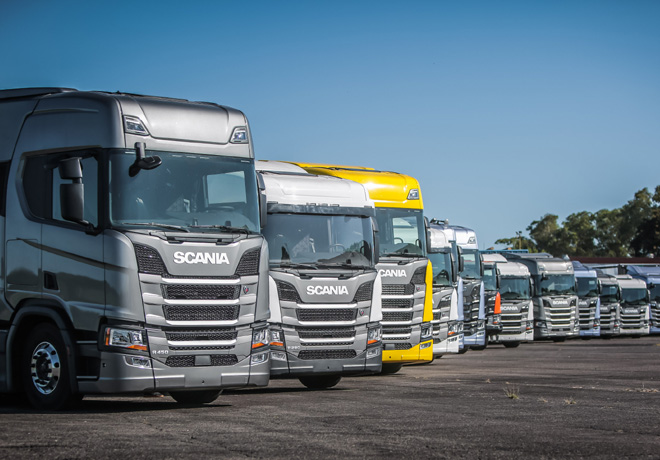 Nueva Generación de camiones Scania llegan al país.