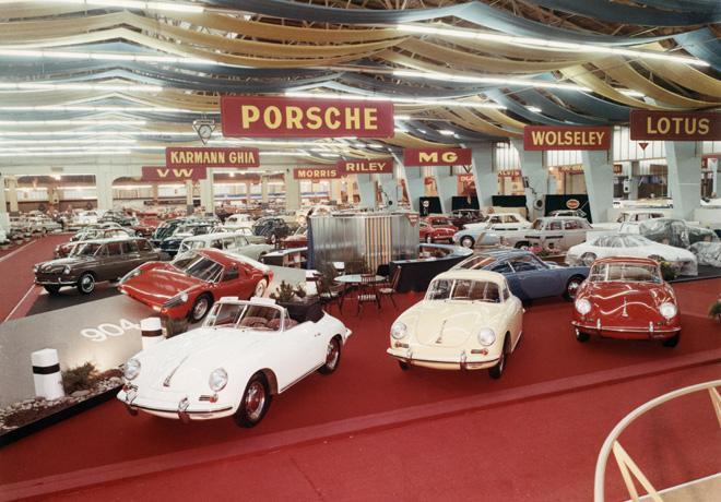 Porsche - Ginebra 1964 - El 904 Carrera GTS hizo su debut mundial hace exactamente 55 anios