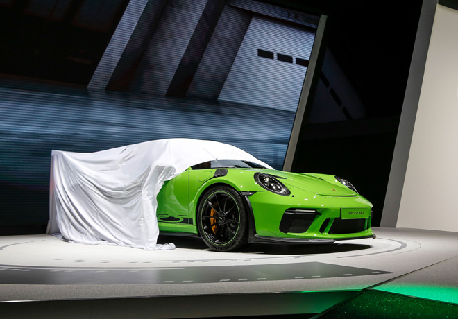 Porsche - Ginebra 2018 - 911 GT3 RS