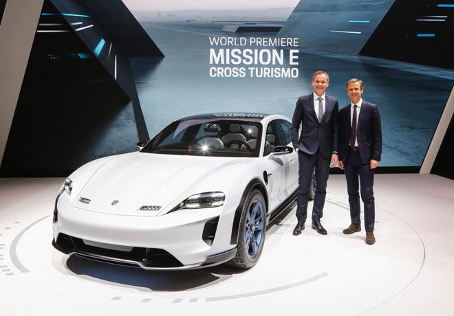 Porsche - Ginebra 2018 - Mission E Cross Turismo