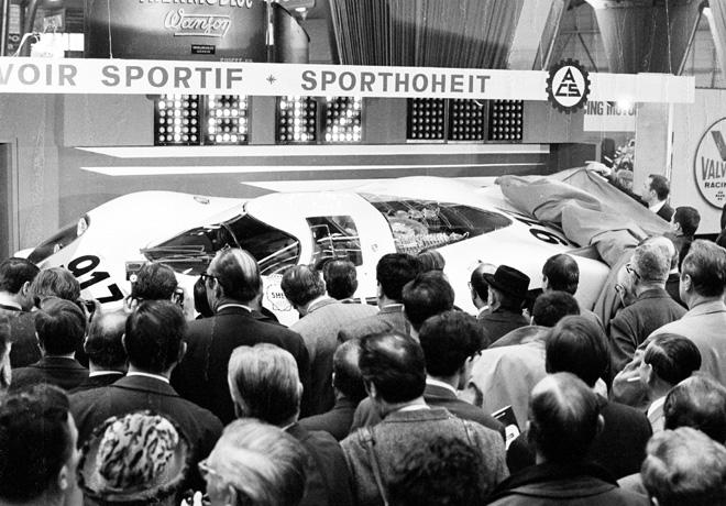 Porsche - Ginebra 2019 - La marca celebra el 50mo aniversario del 917