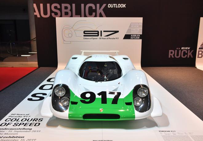 Porsche celebra los 50 anios del 917