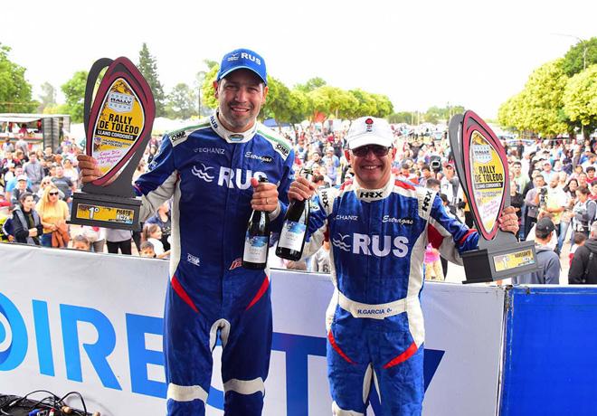 Rally Argentino - Toledo - Cordoba 2019 - Final - Marcos Ligato en el Podio