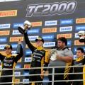 TC2000 - Alta Gracia - Cordoba 2019 - Carrera Final - Rodrigo Lugon - Nicolas Moscardini - Gabriel Gandulia en el Podio