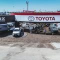 Toyota exhibe su line-up en Expoagro 2019